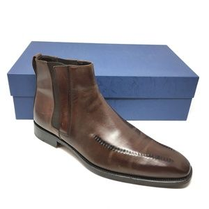 Allen Edmonds Italy Chelsea Boots Size 11 Brown